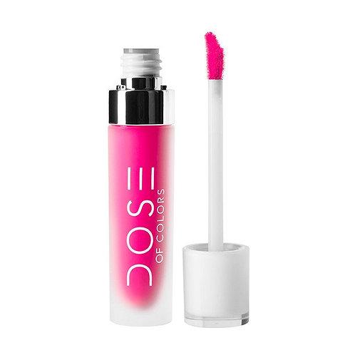 #DoseofColors MatteLiquid Lipstick | PINKY PROMISE