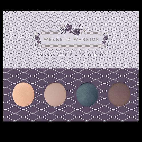 #ColourPop Shadow Palette | Weekend Warrior