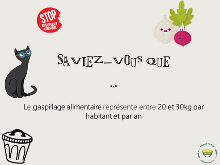 Le gaspillage alimentaire ...