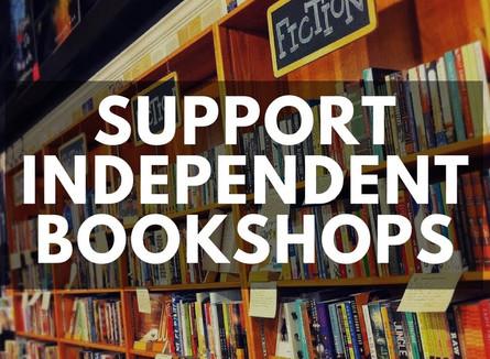 INDEPENDENT BOOKSHOP SUPPORT