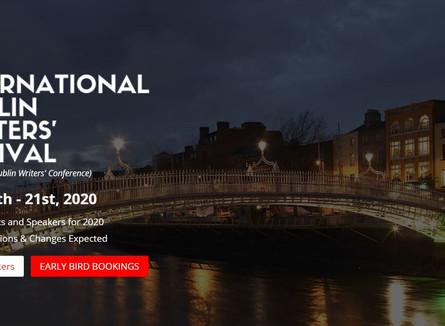 THE INTERNATIONAL DUBLIN WRITERS' FESTIVAL