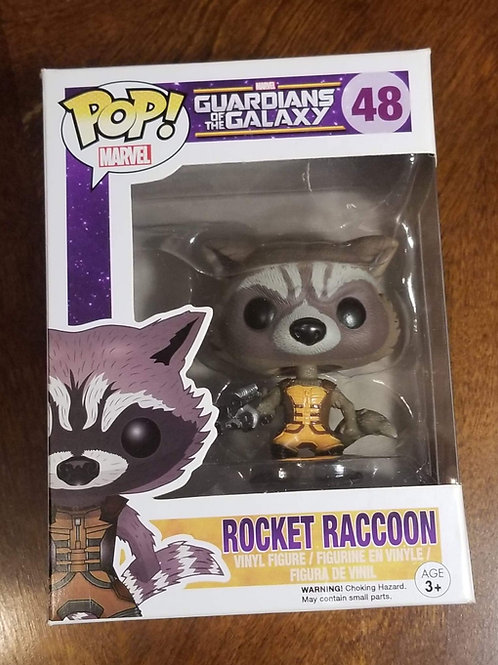 Rocket Raccoon Pop Figure