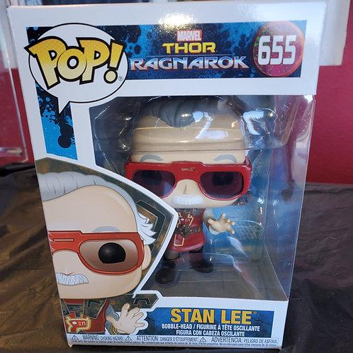 Stan Lee Thor Ragnork Funko Pop