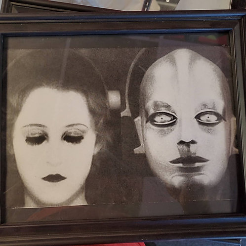 Metropolis Maria Framed picture