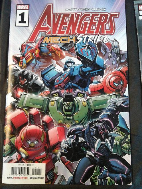 Avengers Mech Strike #1  4.0