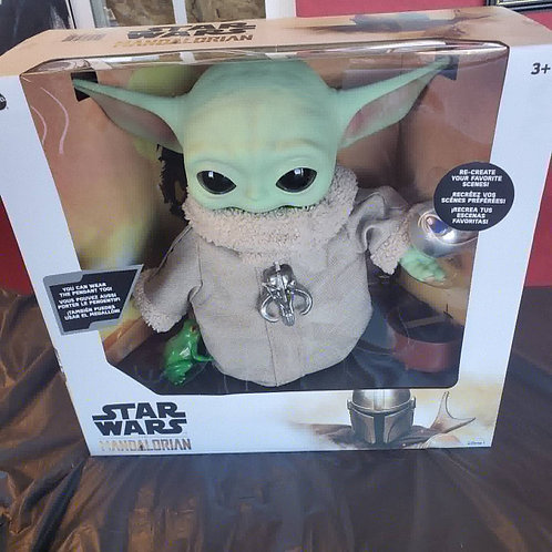 Star Wars , The Mandalorian,  The Child 11 inch doll w/accessories