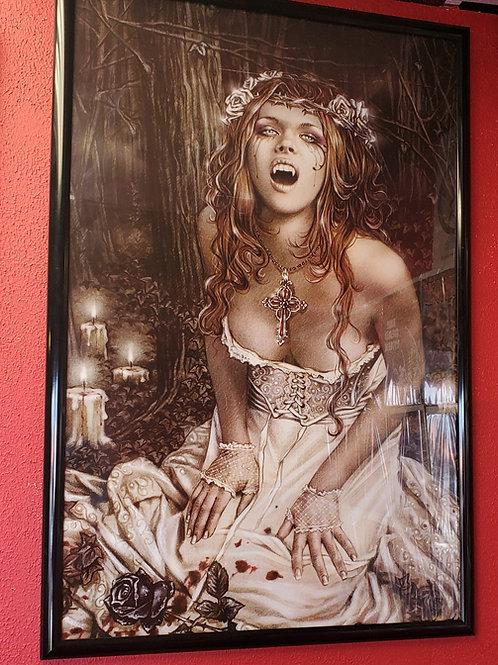 Victoria Frances Vampire Poster