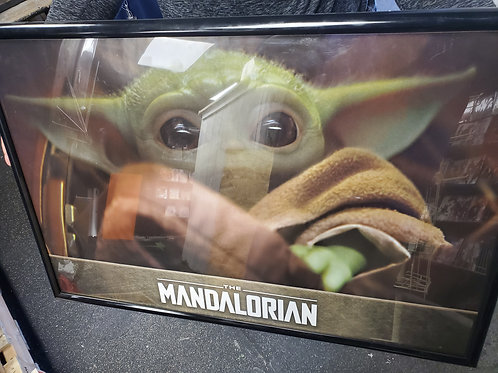 Baby Yoda Framed Poster