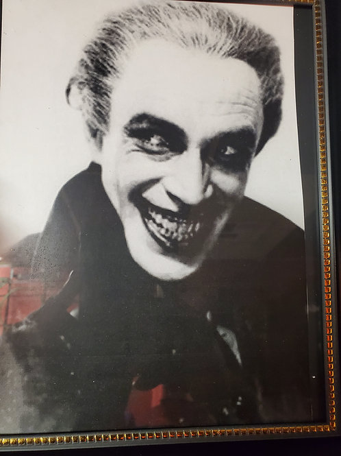The Man Who Laughs framed picture