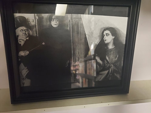 Cabinet Of Dr Caligari framed picture