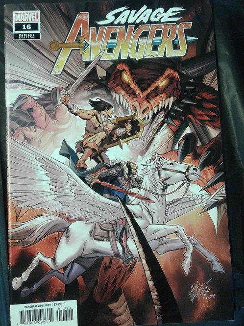 Savage Avengers #16