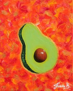 '3D Avocado' (2021)