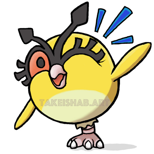 Winking Shiny HootHoot Emote(2020)