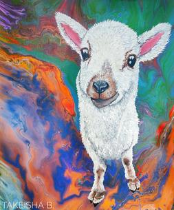 'Psychedelic Lamb' (2018)