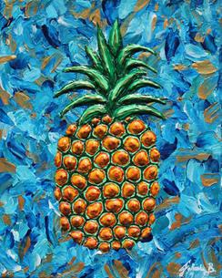 'Blue Pineapple' (2021)