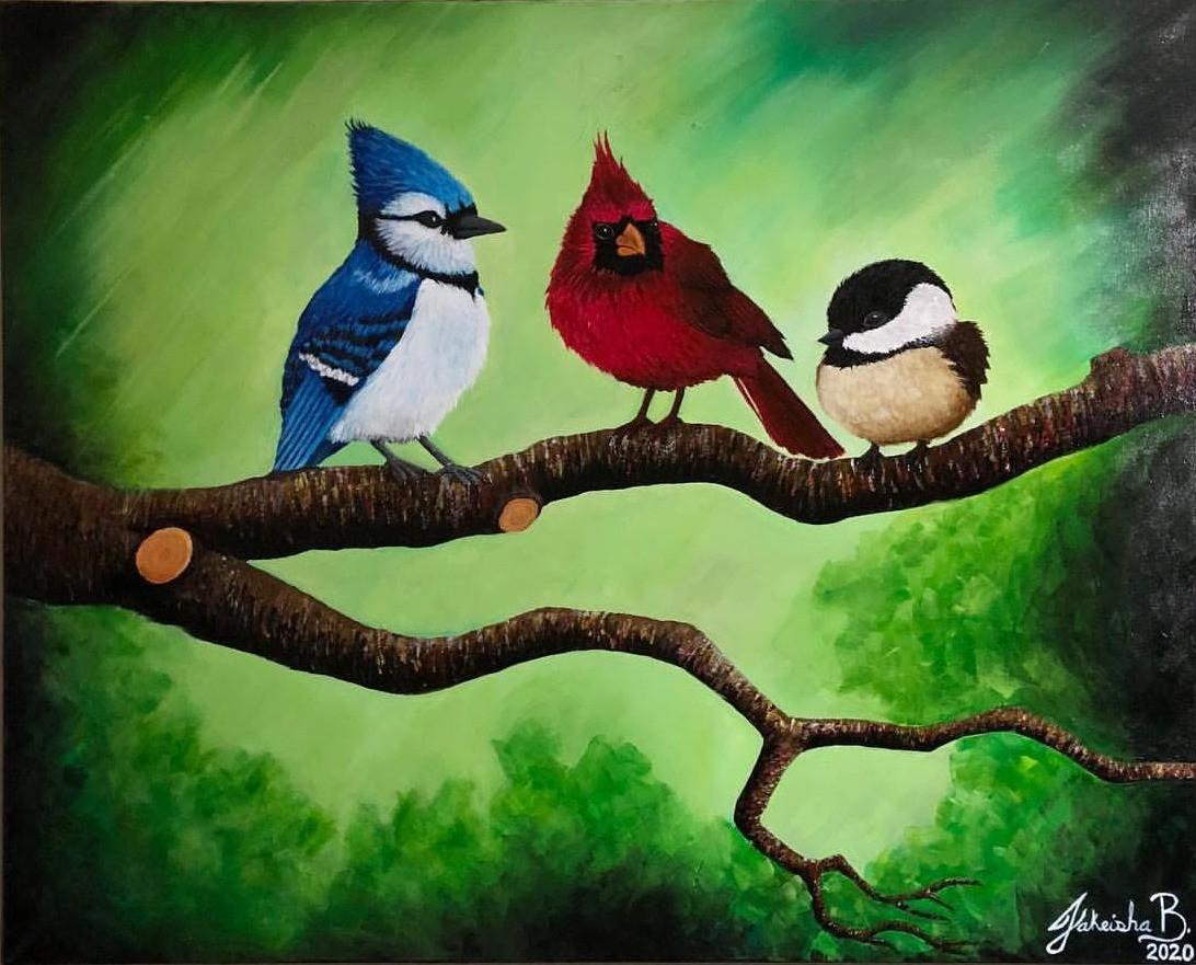 Three Little Birds (2020) - Frontal View