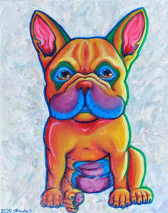'Rainbow Frenchie' (2020)