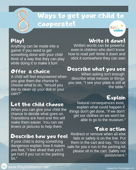 8 ways to cooperate