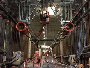 O-Bahn City Access Under Construction
