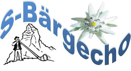 S-Bärgecho mit Matterhorn und Edelweiss.