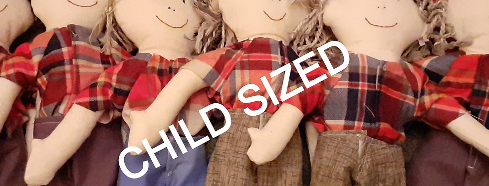 Charity doll template - Child