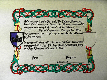 Award of Arms