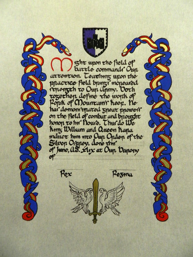 Order of the Silver Osprey