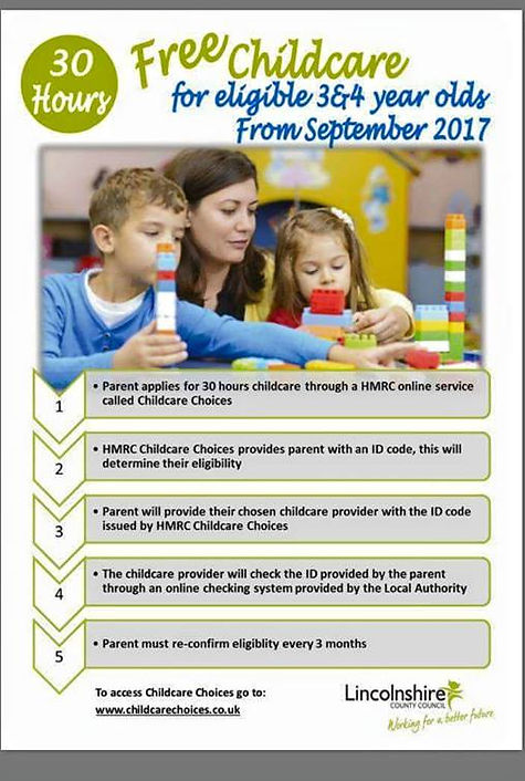 Free childcare fundng lincoln