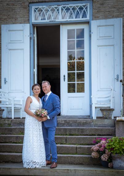 Bryllupsbilleder ved Skjoldnæsholm