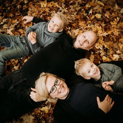 familiefotos i naturen