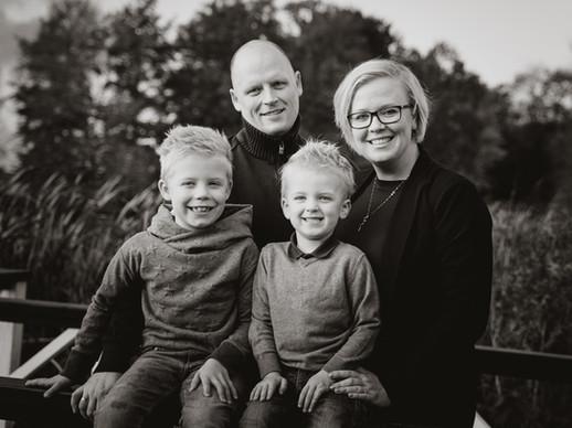 Glade familiebilleder fra Ringsted