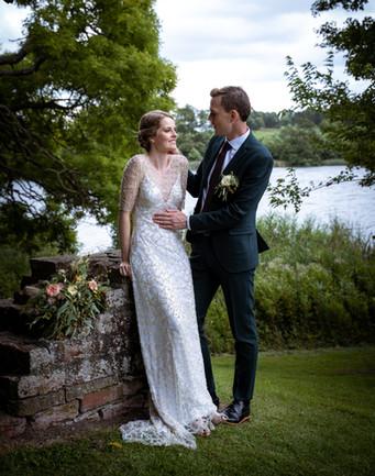 Brudepar ved Gisselfeld