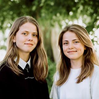 Søstre i det grønne