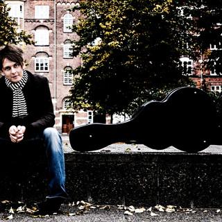 portræt af musiker i København