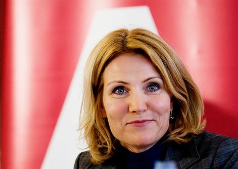 Tidligere statsminister Helle Thorning-Schmidt portræt socialdemokratiet