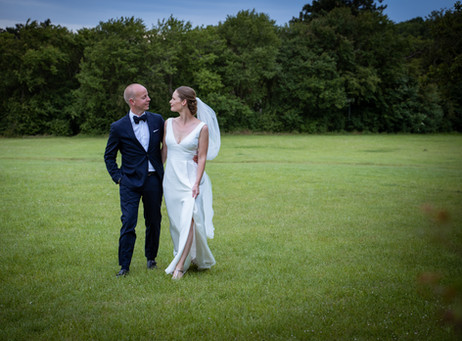Bryllup Himmelev ved Restaurant Vigen