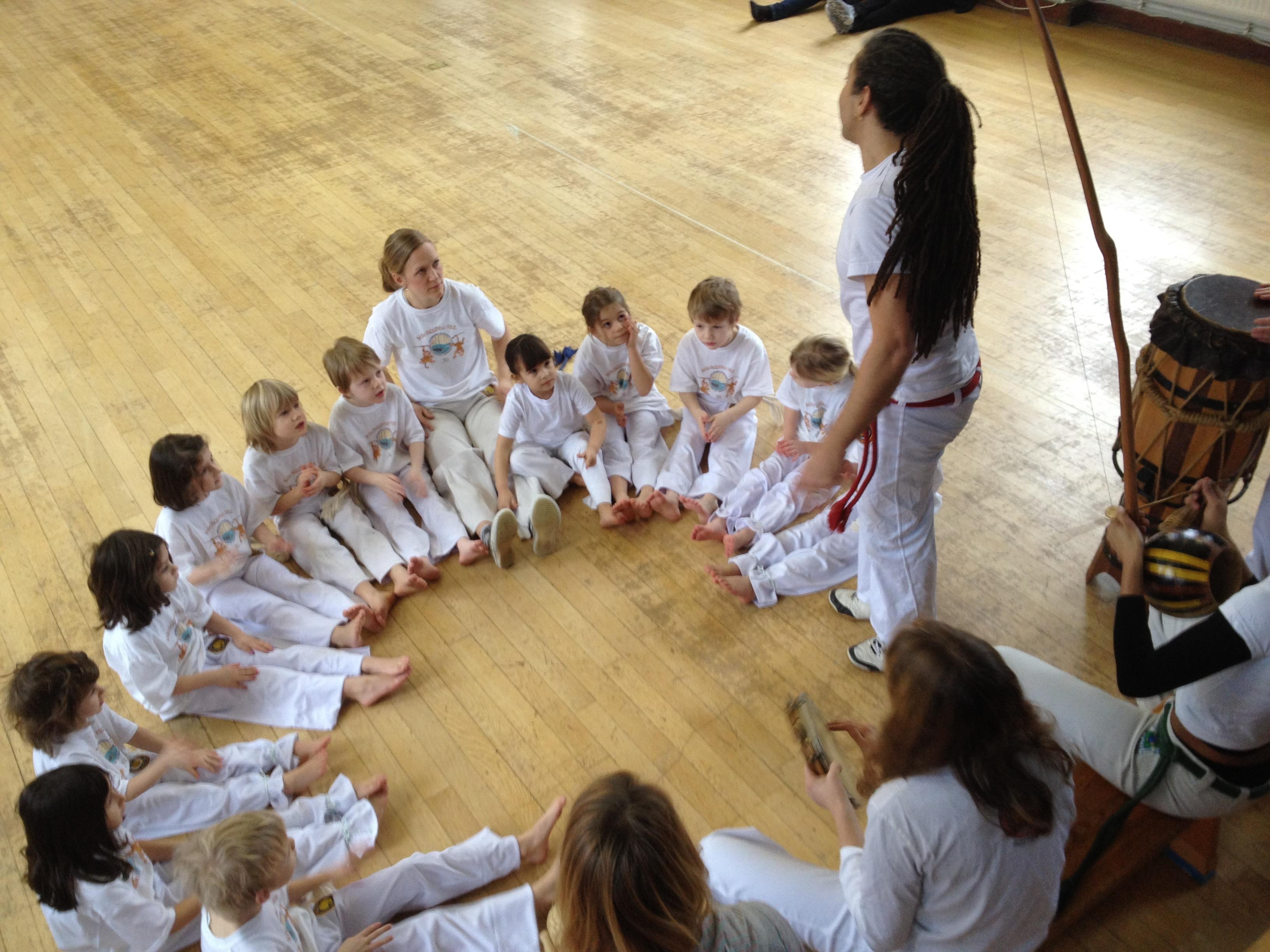 Capoeirando Stockholm Kids event