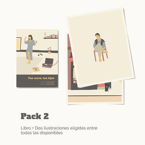 Haz tu pack libro +2 ilustraciones