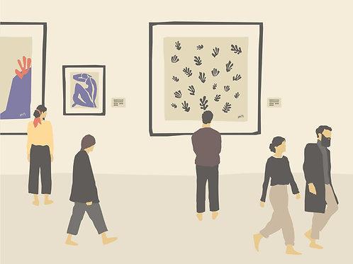 Ilustración #14 La gente que sabe sonreír