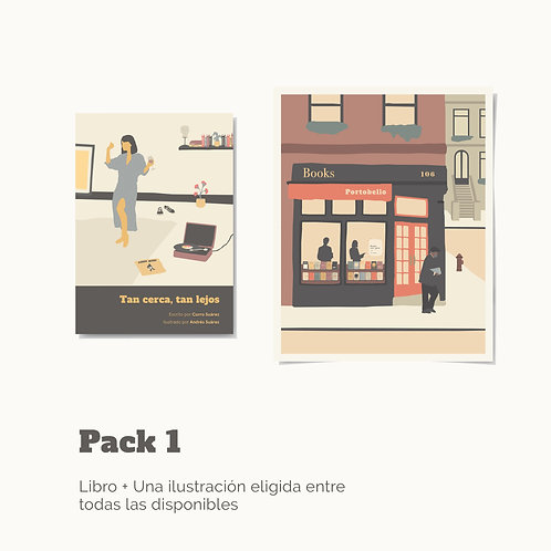 Haz tu pack libro +  ilustración