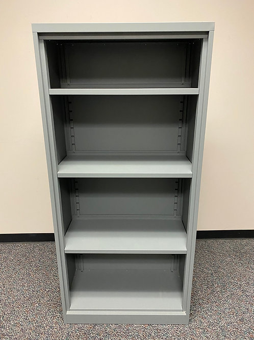 Bookcase (Gray) Steelcase, Metal