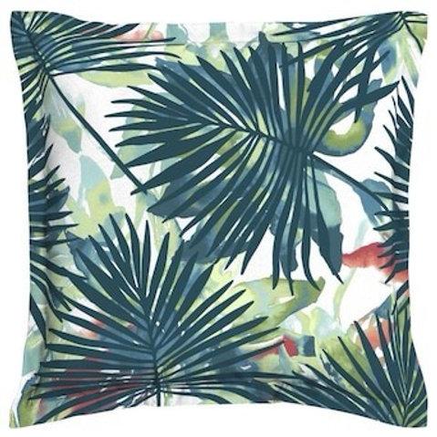 Outdoor Throw Pillow - Toss Palm Leaf