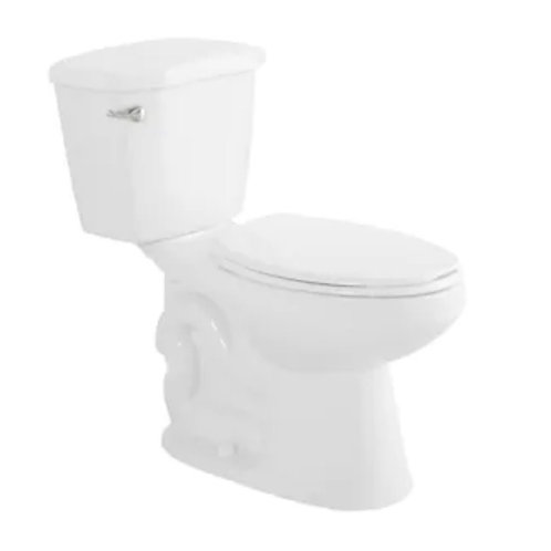 Foremost White WaterSense Elongated Comfort Height 2-Piece Toilet 12-in Rough-In