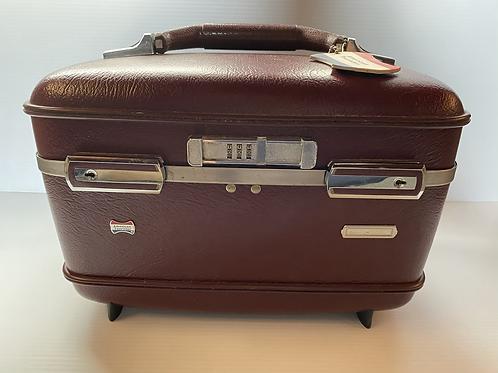 Vintage American Tourister Train Case Hard Luggage