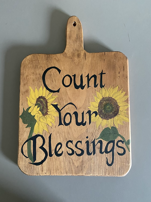 Count Your Blessings Decorative Hanging