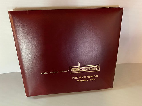 1957 Audio Recording Library Hymn Book Vinyl Record Box Set Volume 1&2