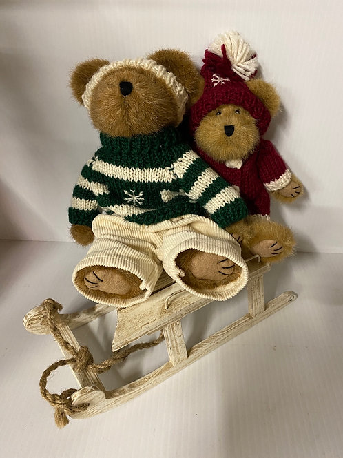 Boyds Bear -Tootie Whizzalong and Albin Whizzalong