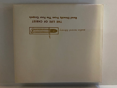 1957 Audio Recording Library The Life of Christ Vinyl Lp Box Set 2 Volumes