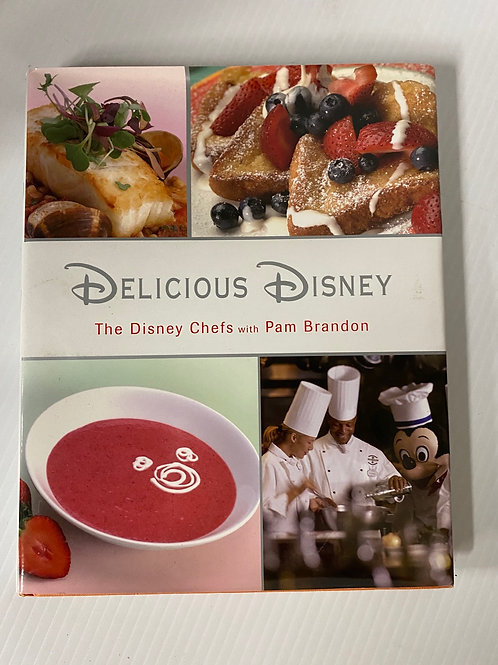 Delicious Disney - Hardcover Book