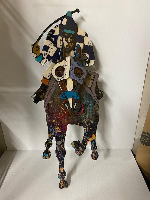 """Moulton Wall Horse Art 24"""""""